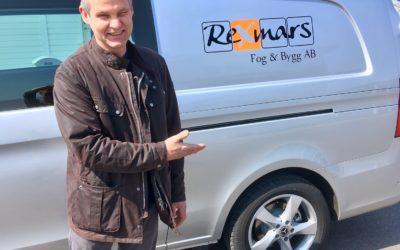 Ny bil till Rexmars Fog och Bygg
