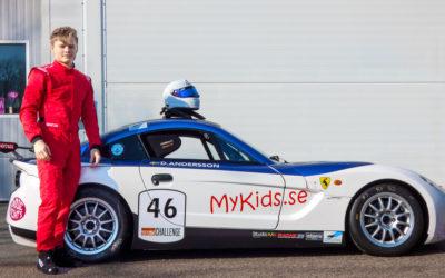 Daniel Andersson & Ginetta GT5 Challenge